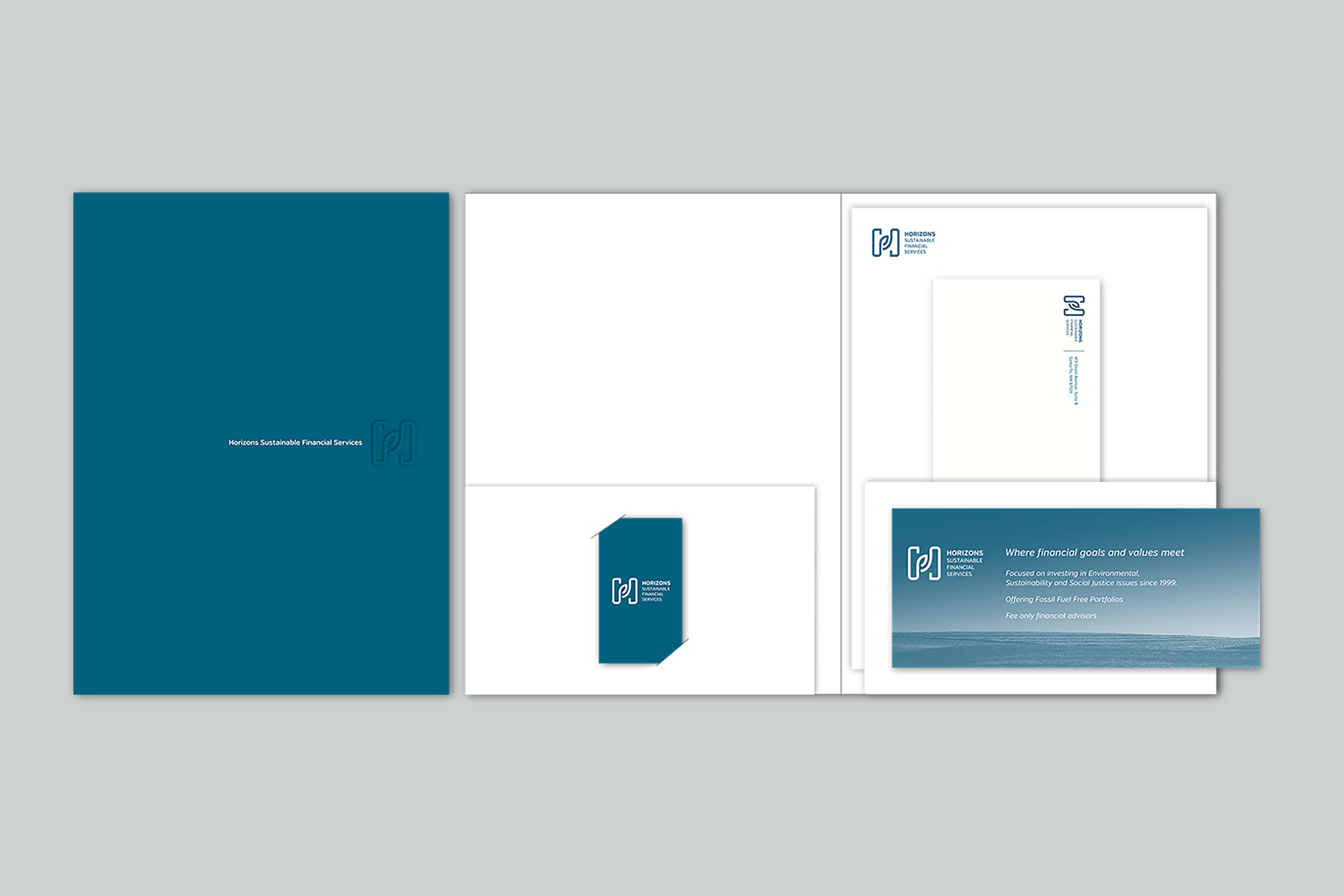 HSFS Stationery and Capabilities folder