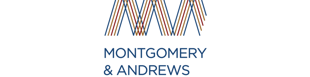 Founded in 1936, Montgomery & Andrews Law Firmwas looking to redesign their brand, beginning with their logo and an identity system.