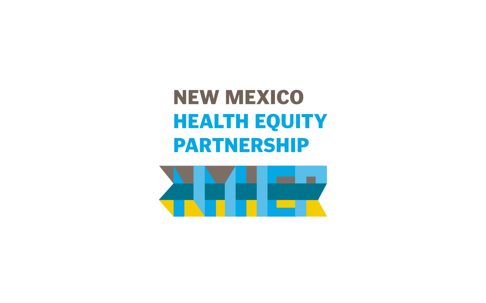 New Mexico Health Equity Partnership Branding Rinse Design